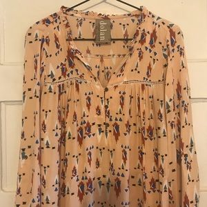 Anthropologie Dolan Left Coast Wanderlust Dress